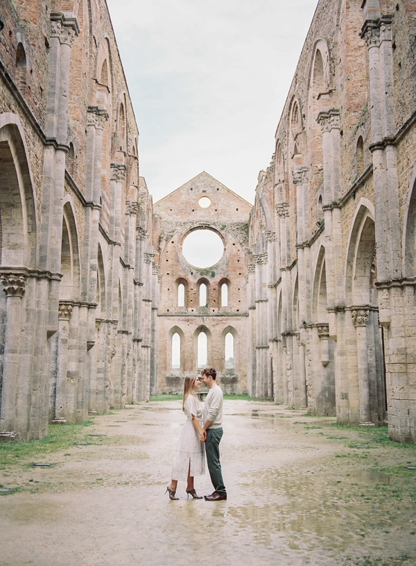 Alexis & Zach | Tuscany Engagement